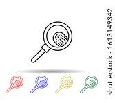 fingerprint  search multi color ...