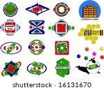 set of vector logo | Shutterstock .eps vector #16131670