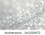 abstract shiny glitter bokeh... | Shutterstock . vector #161320472