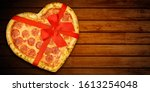 Pizza Pepperoni Shaped Heart...