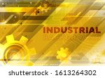 abstract industrial technology...