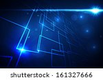 black background with shiny... | Shutterstock . vector #161327666