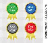 best seller colorful labels... | Shutterstock . vector #161330978