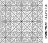 black and white geometric... | Shutterstock .eps vector #161341418