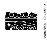 soil ground icon. simple...