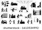 advertisement agent... | Shutterstock .eps vector #1613534992