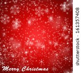 christmas red background | Shutterstock . vector #161357408