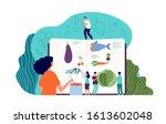 recipe book. fresh ingredients  ... | Shutterstock .eps vector #1613602048