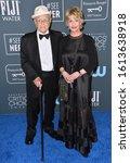 Small photo of SANTA MONICA, USA. January 12, 2020: Norman Lear & Lyn Lear at the 25th Annual Critics' Choice Awards at the Barker Hangar, Santa Monica. Picture: Paul Smith/Featureflash