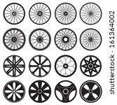 Bicycle Wheel  Vector Format