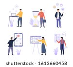 business organized people...   Shutterstock .eps vector #1613660458