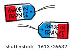 made in france label isolated... | Shutterstock .eps vector #1613726632
