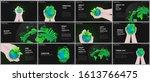 presentation design vector... | Shutterstock .eps vector #1613766475