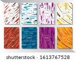 cover design set of background...   Shutterstock .eps vector #1613767528