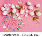Easter Lettering Background ...