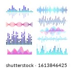 sound effects vector color... | Shutterstock .eps vector #1613846425