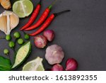 peppers  onions  garlic and... | Shutterstock . vector #1613892355