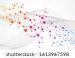 structure molecule and...   Shutterstock .eps vector #1613967598