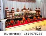 a replica of mysore palace... | Shutterstock . vector #1614075298