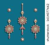 Vintage Gold Jewelry  Earrings...