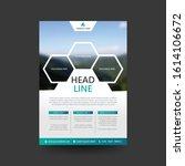 poster flyer pamphlet brochure... | Shutterstock .eps vector #1614106672