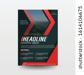 poster flyer pamphlet brochure... | Shutterstock .eps vector #1614106675