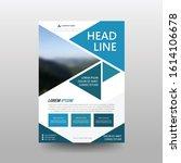 poster flyer pamphlet brochure... | Shutterstock .eps vector #1614106678