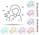 seller girl avatar multi color...