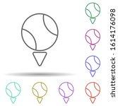 sport  ball multi color style...