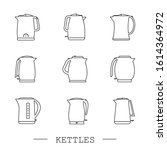 Kettles Icon Line  Linear Set...