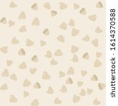 white chocolate chips seamless... | Shutterstock .eps vector #1614370588