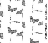 abstract grunge grid stripe... | Shutterstock . vector #1614380602
