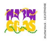 svg for mardi gras cutting files | Shutterstock .eps vector #1614394048