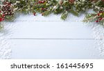 winter background   blue... | Shutterstock . vector #161445695