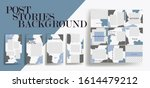 design backgrounds for social...   Shutterstock .eps vector #1614479212