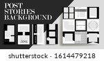 design backgrounds for social...   Shutterstock .eps vector #1614479218