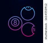 billiard balls nolan icon....
