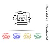 website algorithm multi color...