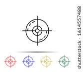 market target multi color style ... | Shutterstock .eps vector #1614557488
