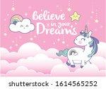 vector illustration of a cute... | Shutterstock .eps vector #1614565252