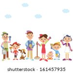 i clean the whole it in ... | Shutterstock .eps vector #161457935