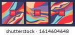 abstract colorful pattern... | Shutterstock .eps vector #1614604648