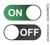 on and off switch color buttons ...