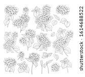 linear style set of white...   Shutterstock .eps vector #1614688522