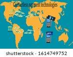 contactless payment...   Shutterstock .eps vector #1614749752