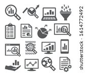 data analysis icons set on...   Shutterstock .eps vector #1614772492