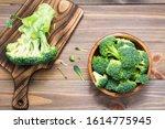 Ready To Eat Fresh Raw Broccoli ...