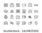 mattress comfortable soft... | Shutterstock .eps vector #1614825202