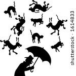 vector silhouette graphic... | Shutterstock .eps vector #1614833