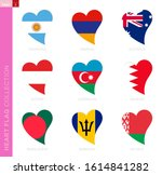 ollection of flags in the... | Shutterstock .eps vector #1614841282